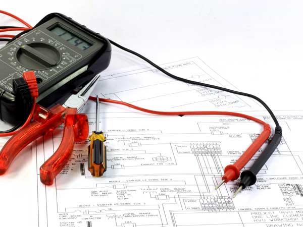 Schéma de raccordement électrique bureau d'études